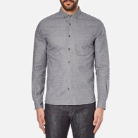 Ymc Men's Jan And Dean Shirt Navy