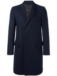 Marc Jacobs Single Breasted Coat Blue