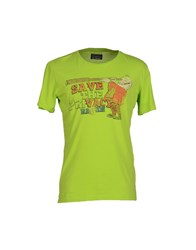 Rare Ra Re Topwear T Shirts Men Acid Green