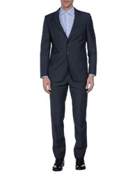 Tombolini Suits And Jackets Suits Men Slate Blue