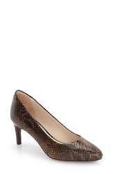 Cole Haan Women's 'Grace Grand' Pump Snake Print Leather