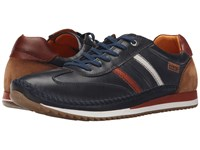 Pikolinos Liverpool M2a 6019 Navy Blue Brandy Men's Lace Up Casual Shoes Black