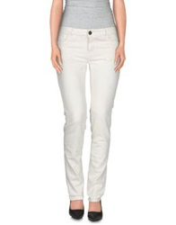 Twin Set Jeans Casual Pants White