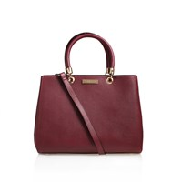 Carvela Kurt Geiger Darla Structured Tote Wine