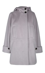 Dorothee Schumacher Smooth Volume Coat Light Grey