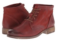 Josef Seibel Sienna 03 Carmin Women's Lace Up Boots Red