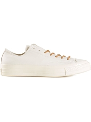 Converse Thick Soled Sneakers White