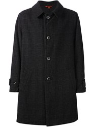 Barena Single Breasted Coat Black