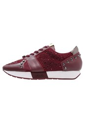 Liu Jo Jeans Trainers Redwine Bordeaux