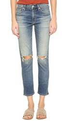 Citizens Of Humanity Agnes Crop Slim Straight Jeans Straight Up