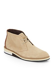 French Connection Corian Suede Chukka Boots Sand