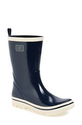 Women's Helly Hansen 'Midsund' Rain Boot Navy Off White