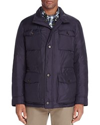 Brooks Brothers Down Field Jacket Navy