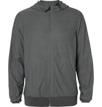 Snow Peak Insulated Shell Hooded Jacket Gray