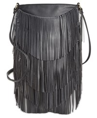 Inc International Concepts Fringe Crossbody Only At Macy's Black