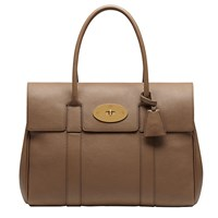 Mulberry Bayswater Small Classic Grain Bag Beige