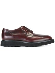 Hogan Derby Shoes Red