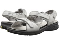 Drew Shoe Cascade Sport White Leather Women's Sandals