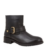 Kurt Geiger London Shadow Leather Biker Boot Female