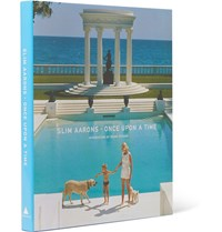 Abrams Slim Aarons Once Upon A Time Hardcover Book Blue