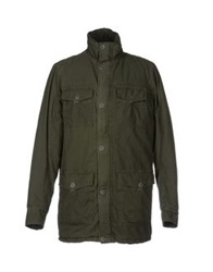 Solid Jackets Military Green