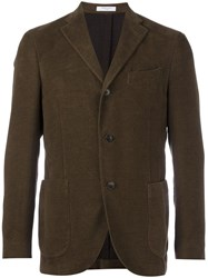 Boglioli Double Button Blazer Brown