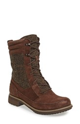The North Face Women's 'Bridgeton Lace' Waterproof Boot Coffee Bean Brown Cub Brown