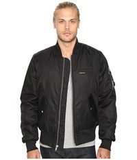 Members Only Authentic Military Bomber Jacket Black Men's Coat