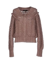 Magazzini Del Sale Knitwear Cardigans Women Light Brown