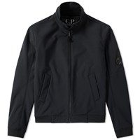 C.P. Company Softshell Arm Lens Jacket Black