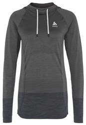 Odlo Briana Long Sleeved Top Graphite Grey Grey Melange Blend