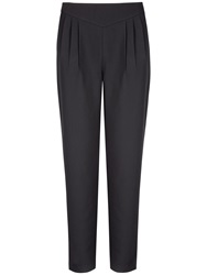 Ted Baker Charice Cropped Jacquard Trousers Black