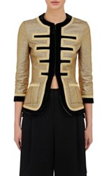Givenchy Women's Military Inspired Slim Jacket Red
