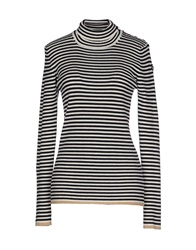Marina Yachting Turtlenecks Black
