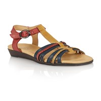 Lotus Nerissa Open Toe Sandals Natural