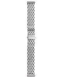 16Mm New Deco Bracelet Strap Michele Silver