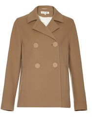 Damsel In A Dress Harrington Coat Camel