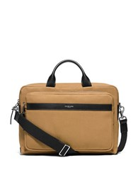 Michael Kors Grant Commuter Briefcase Camel