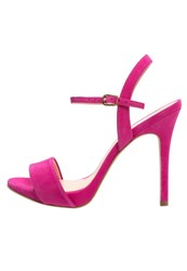 Cosmoparis Jarica High Heeled Sandals Fuschia Pink
