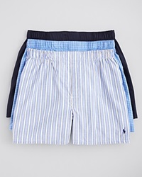 Polo Ralph Lauren Boxers Pack Of 3 Blue Multi