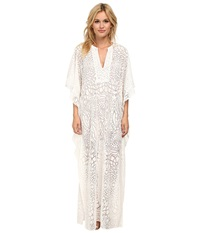 Bcbgmaxazria Dameka Hi Lo Kaftan Dress White Women's Dress