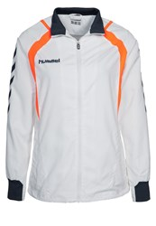 Hummel Team Player Tracksuit Top White