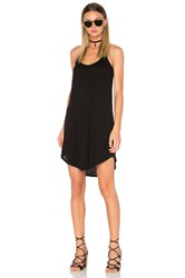 Atm Anthony Thomas Melillo Trapeze Tank Dress Black