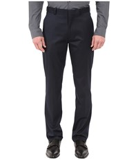 Perry Ellis Slim Fit Pants Navy Men's Dress Pants