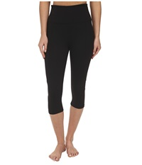 Nydj City Sport Fit Solution Trainer Crop Black Women's Casual Pants