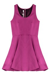 Mcq By Alexander Mcqueen Mcq Alexander Mcqueen Flared Dress Pink