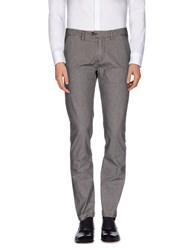Seventy By Sergio Tegon Trousers Casual Trousers Men Steel Grey