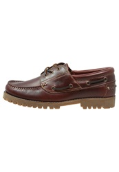 Lumberjack Barker Boat Shoes Brunello Dark Brown