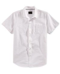 Tavik Men's Uncle Solid Short Sleeve Shirt