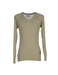 Dekker Knitwear Jumpers Men Light Green